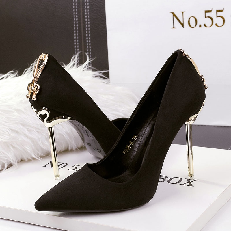 Ladies High Heels Women Shoes Pumps High Heel Stiletto Sexy Wedding Shoes Woman 2020 Pumps Black Red Tacones Mujer